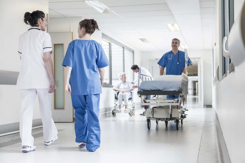 Brandschutztüren in Krankenhäusern