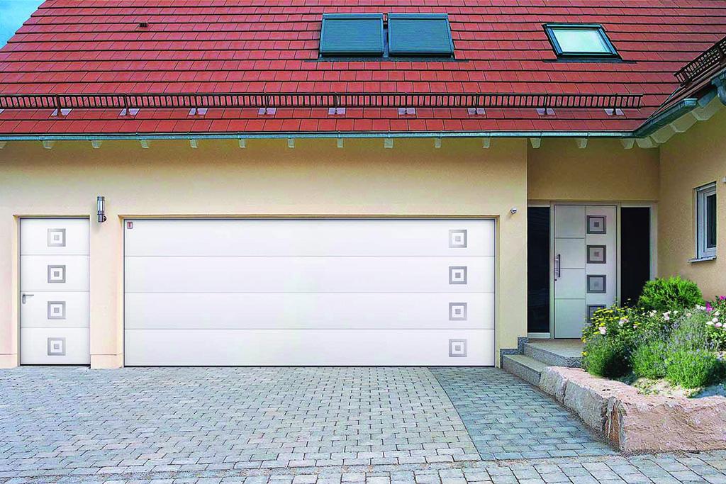 Bauer Garagen-Sektionator